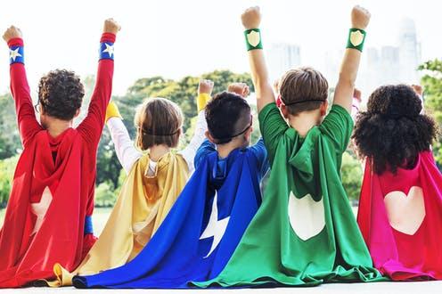 Οι παιδικοί ήρωες δυναμώνουν τα παιδιά
